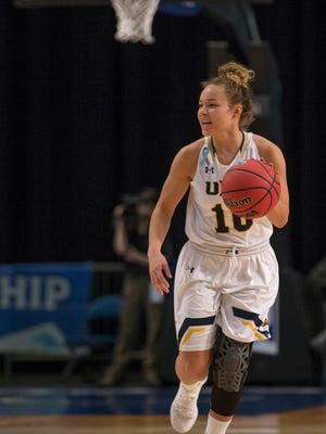 Northern Colorado's Savannah Smith was named the Big Sky regular season and tournament MVP this season. The Fossil Ridge grad leads the Bears into the NCAA tournament for the first time on Friday.