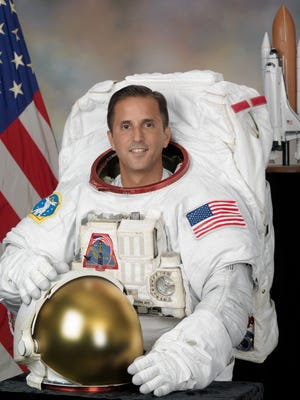 Joseph Acaba, a former high school science teacher selected to NASA in 2004, will be one of the astronauts taking questions from Alamogordo students on Feb. 21.