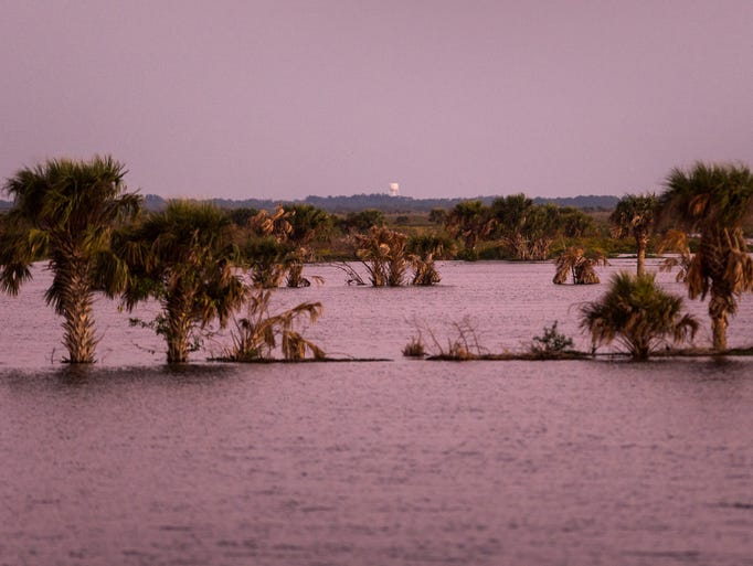 The Fellsmere Water Management Area, which has cost