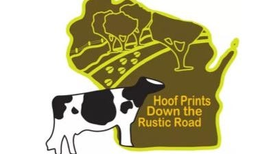 This year's theme for the Wisconsin Jr. Holstein Convention was Hoof Prints Down the Rustic Road.