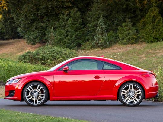 Audi TT T Quattro Review Little Coupe Evolves - Audi tt coupe
