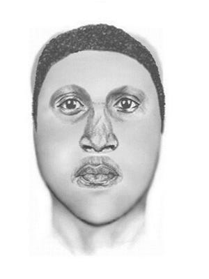 Police released this sketch of a suspect in a sexual assault Tuesday night in Glendale.