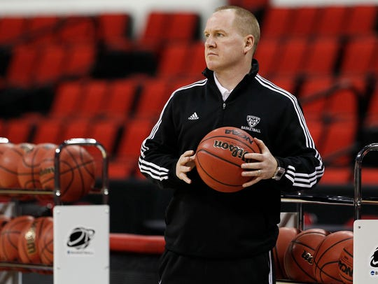 Windsor graduate Jim Crowley is in his second season as head coach at Providence College, The Friars are 8-13.