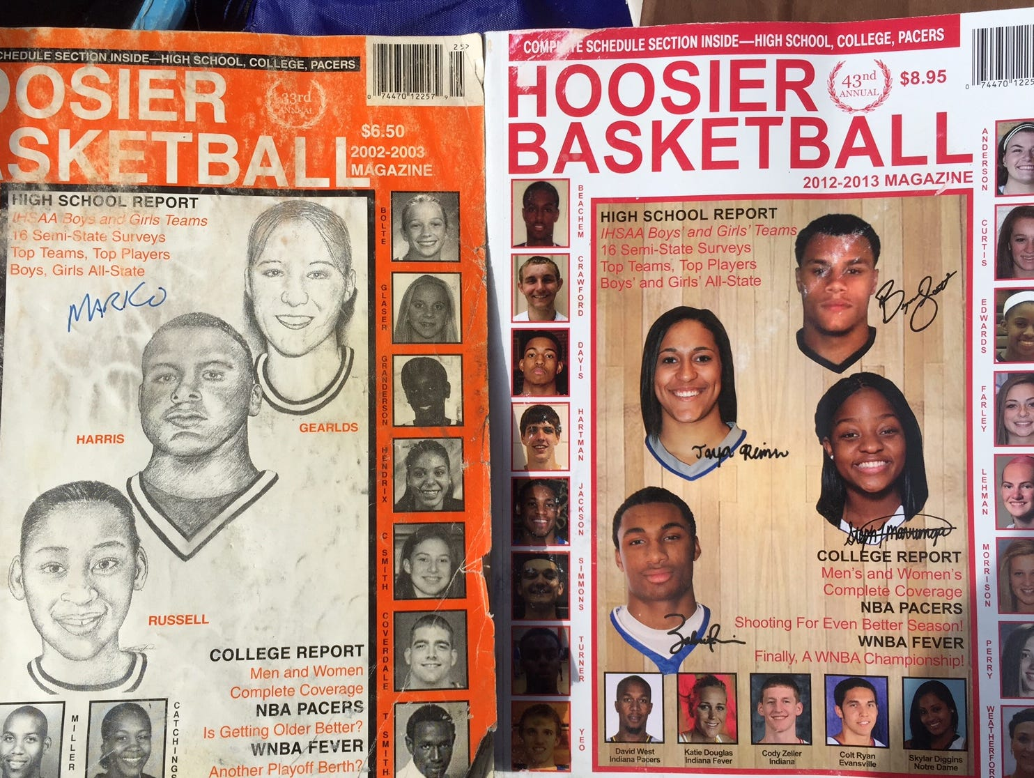 Hoosier Basketball Magazines