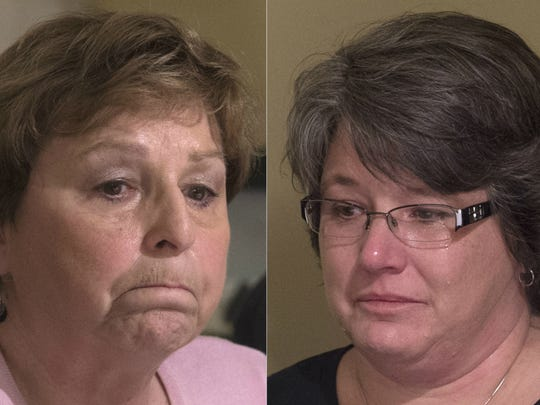 Elaine Miller, left, and Missy Sweitzer are working to stop impaired driving in Pennsylvania.