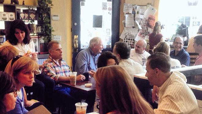Friday's weekly lohud coffee chat at Coffee Labs Roasters in Tarrytown was one of the most successful yet.