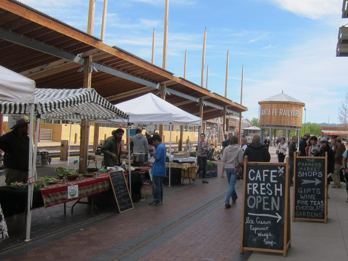 The Saturday Farmer's Market, in a dedicated indoor and outdoor facility in the redeveloped Railyard district, is a must on any visiting food lover's list.