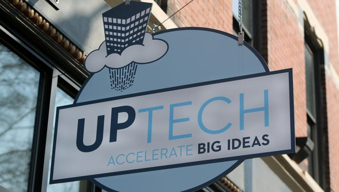 UpTech's offices are located on Pike street in Covington, Kentucky.