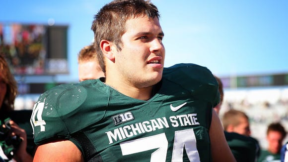 MSU offensive tackle Jack Conklin has only allowed