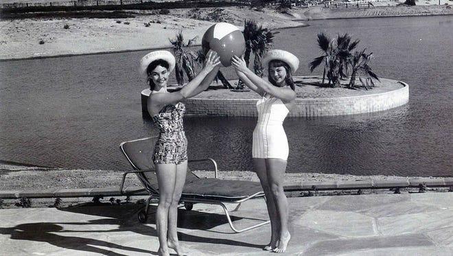 Opening of Bermuda Dunes in 1957 publicity photos.