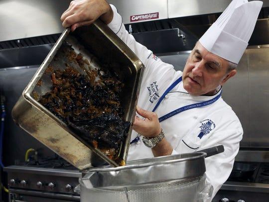 Jon-Paul Hutchins, lead chef instructor at Le Cordon
