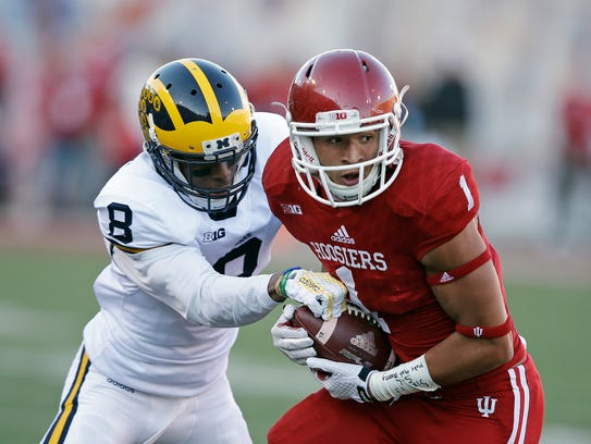 Indiana's Simmie Cobbs will test Penn State's talented