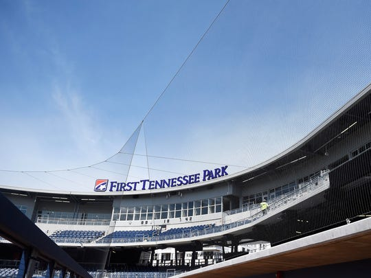 Extended netting at First Tennessee Park will help