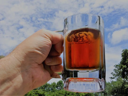 Pictured is one of John and Jessica Paul's home brews