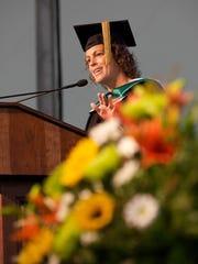 Honorary degree recipient Sara Byers of Leonardo's