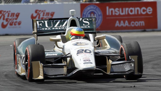 Mike Conway scored a big victory for Ed Carpenter Racing in Long Beach