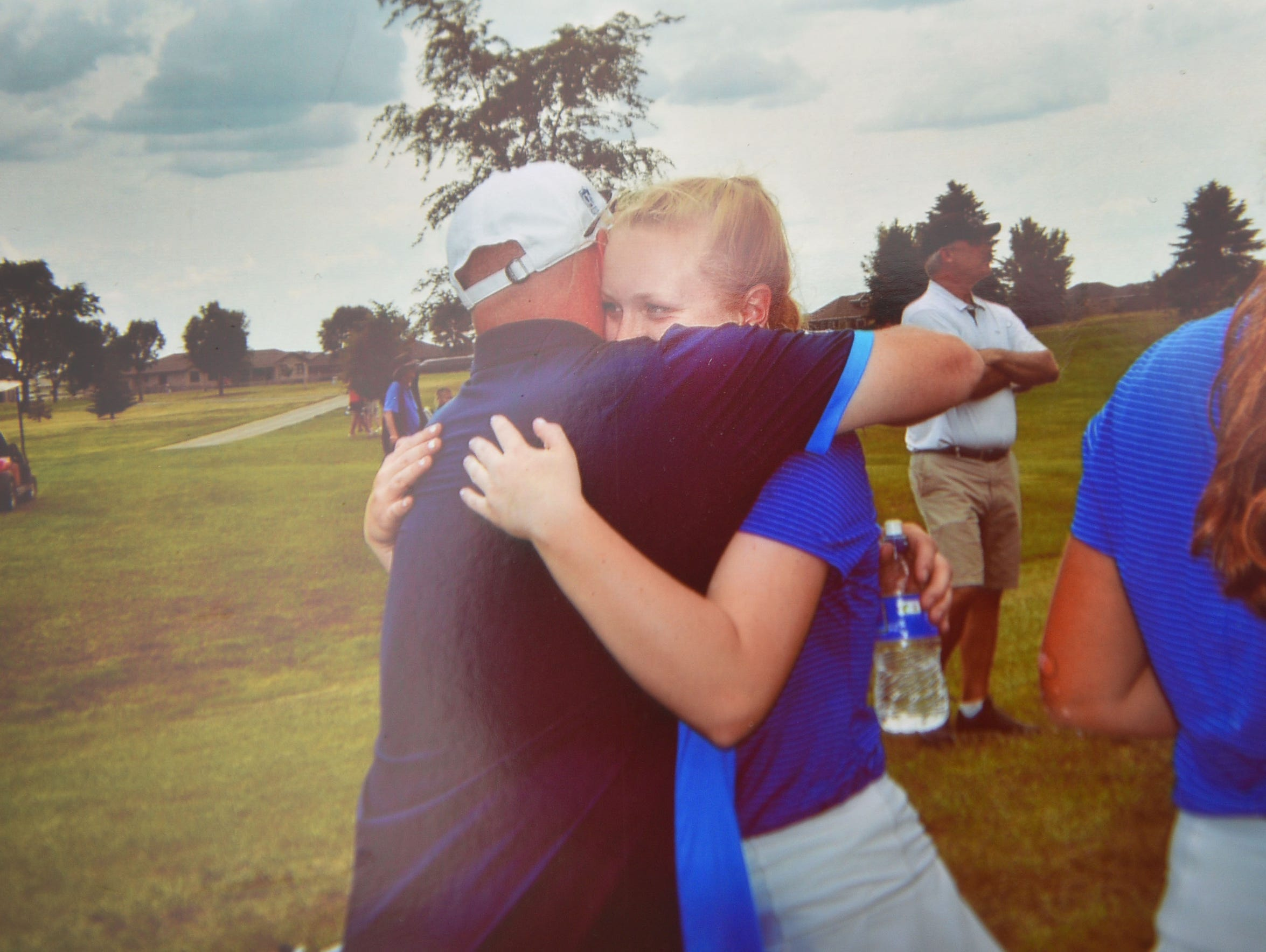 O'Gorman golfer Carly Kunkel shares memories about