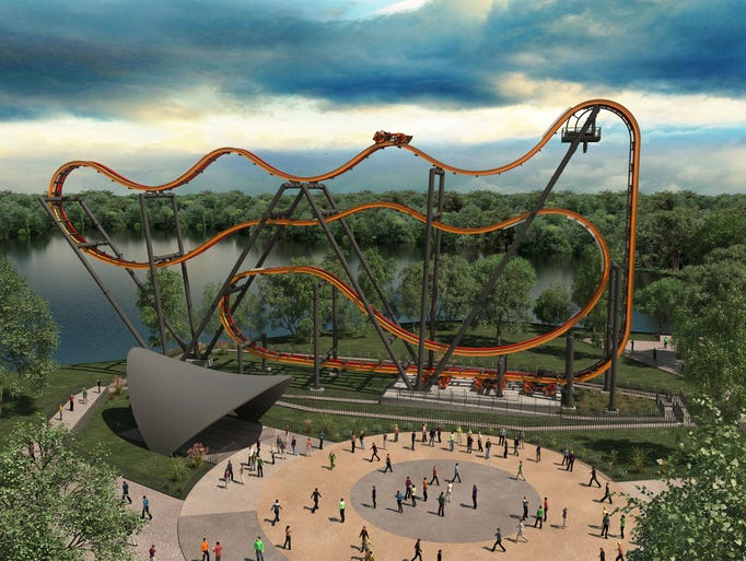 Six Flags Parks New Attractions Announced For 2016