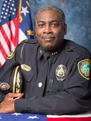 Asheville Police Chief William Anderson in a photograph