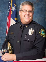 Asheville Police Deputy Chief Wade Wood in a photograph provided by the city on Nov. 10, 2014.