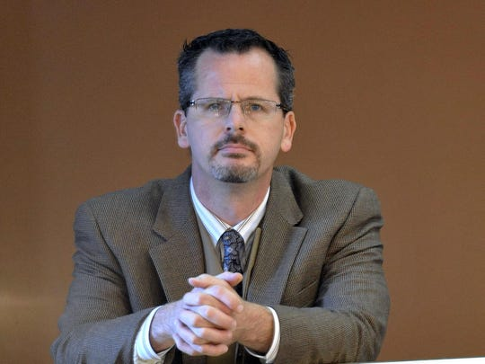State Rep. Todd Courser, R-Lapeer, watches morning
