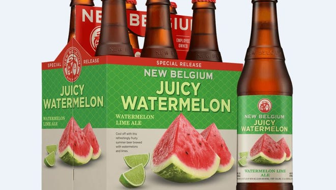 New Belgium Brewing is releasing Juicy Watermelon this month.