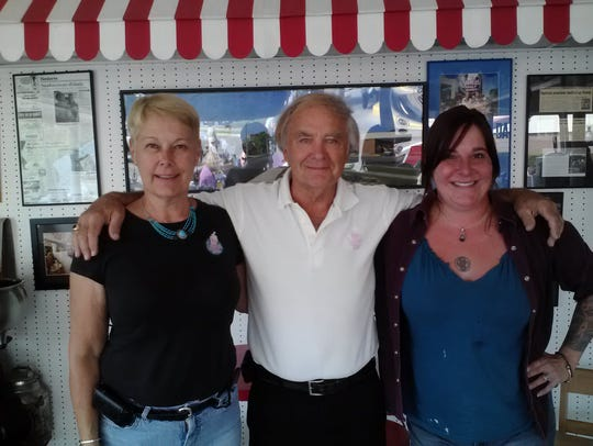 A 2012 photo of Marilyn Caves and Jim Graves before