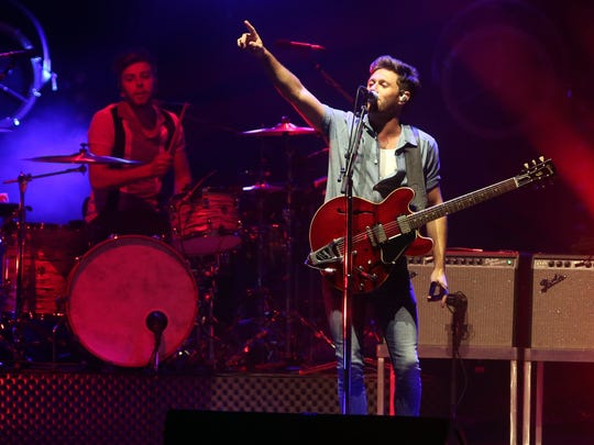 Niall Horan performs at Ascend Amphitheater Monday