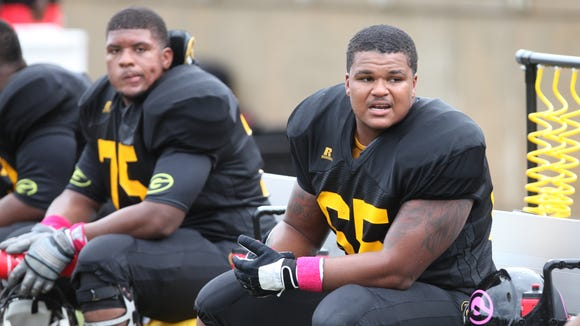 Grambling is trying to ramp up its offensive line after finishing 2014 with one of the SWAC's worst ground games.