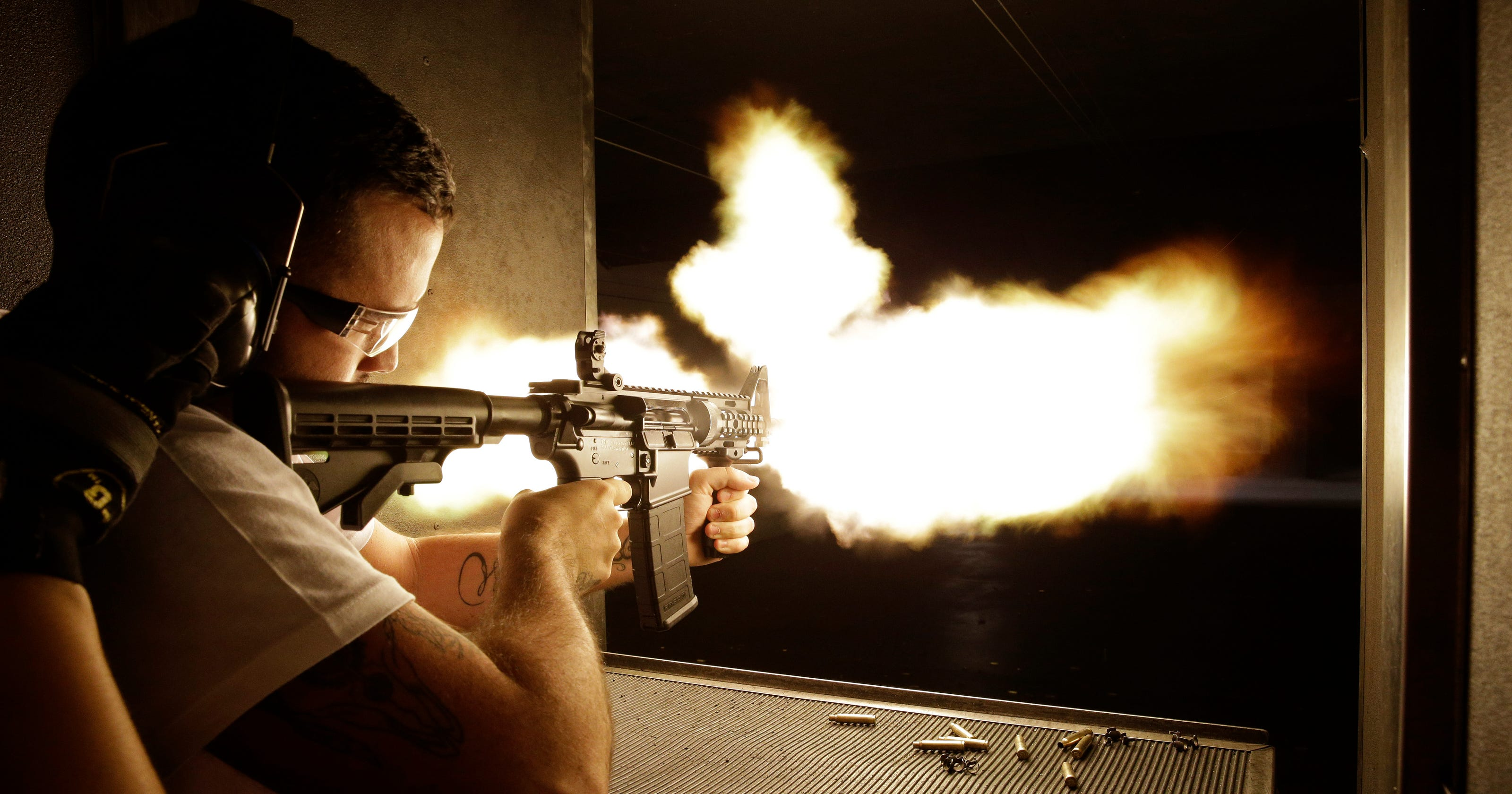 Las Vegas machine gun rentals have attracted tourists for years