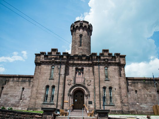 The Schuylkill County Prison pictured on Friday, May 19, 2017, where 37-year-old Cecil Eugene Kutz is being held. Kutz was charged with three counts of endangering the welfare of children and three counts of recklessly endangering another person after he left three children, including a 1-day-girl and a 22-month old boy locked in a cage, home alone on Wednesday May 17, 2017, police said.