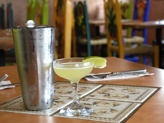 The original margarita at Mi Mexico in West Des Moines.