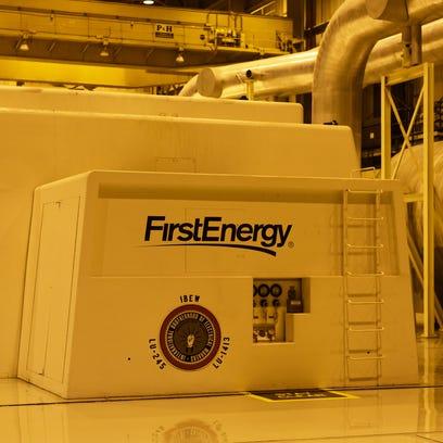 The Main turbine room at Davis–Besse Nuclear Power