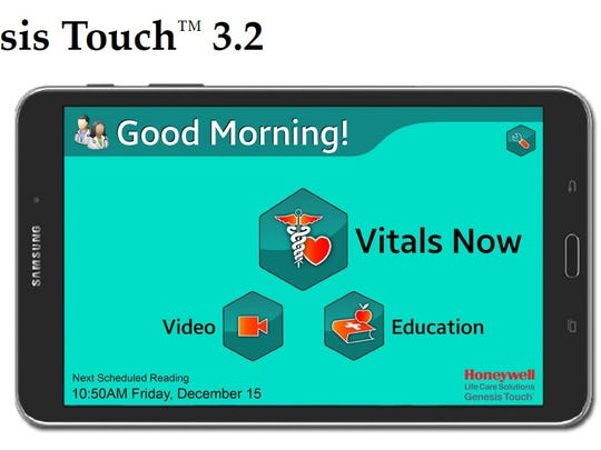 The Genesis Touch is a touchscreen monitor made by