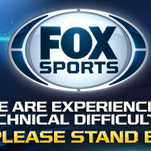 Fox lost its signal during the World Series.