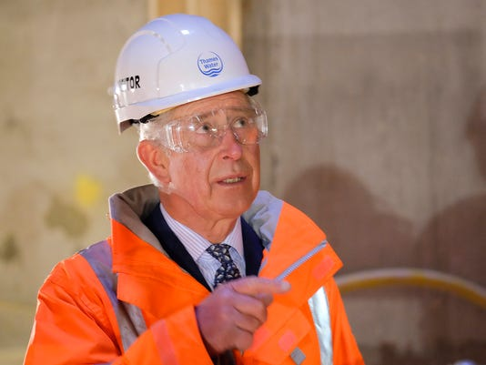 Charles visit to Abbey Mills Pumping station