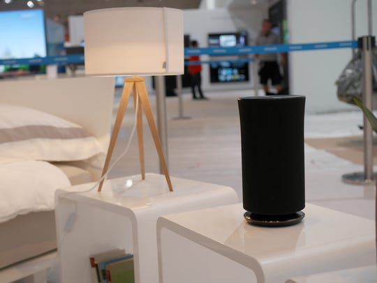 The new 360 speakers Samsung announced are flat on
