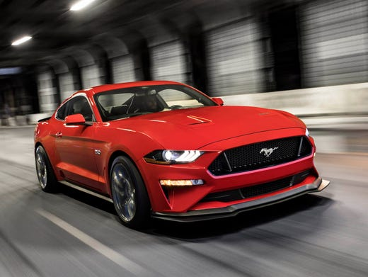 The  Ford Mustang Gt With Performance Pack