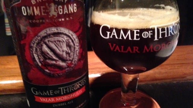 HBO, Ommegang score again with Valar Morghulis, an Abbey Dubbel.