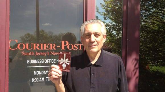 Michael Fioretti of Sicklerville,winner of $50 Visa gift card for Easter photo contest.