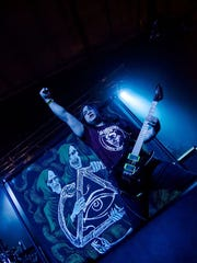Erich Tran of Green Death performing at Lazerfest 2015.