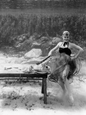Underwater Thanksgiving, 1953