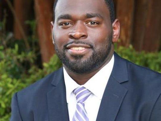 Commissioner-elect Steven Jackson