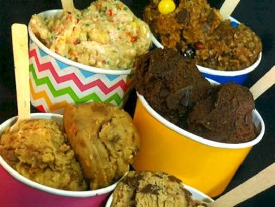 Raw Edible Safe Cookie Dough comes in multiple flavors: