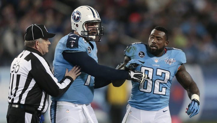 Titans' Delanie Walker is 'looking for something to happen in this game'