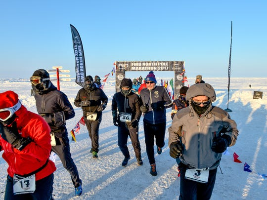 Fifty-four runners competed in the 17th annual North