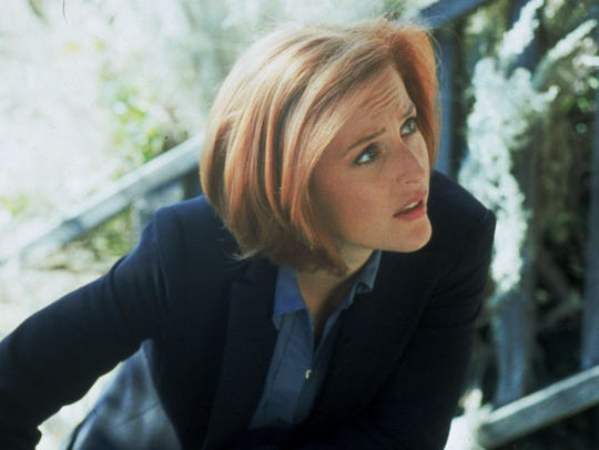 Gillian Anderson  played Dana Scully in 'The X-Files.'