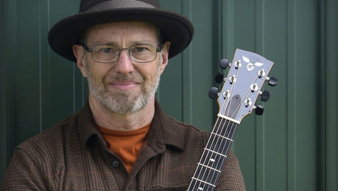 """Andy Baker released his fourth studio album, """"North Country Sky,"""" recorded at Kalamazoo's La Luna Recording & Sound earlier this month."""