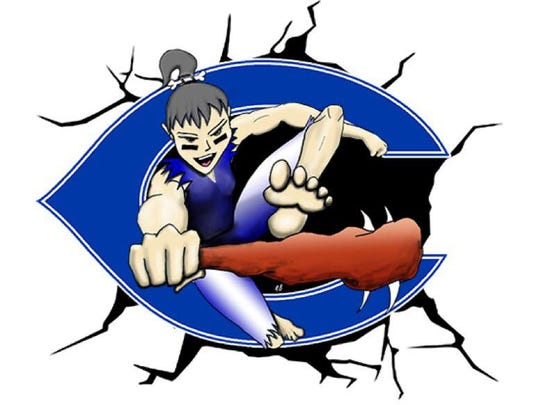 The new design for Carlsbad Cavegirl athletics.