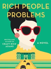 """This image released by Doubleday shows """"Rich People Problems,"""" a novel by Kevin Kwan, available on May 23."""